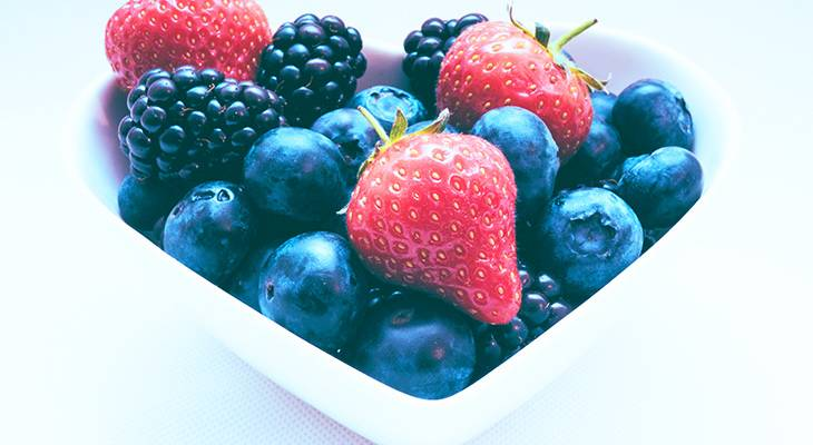 berries, blue berry, strawberry, blackberries, heart, bowl, healthy eating, good foods, fruits