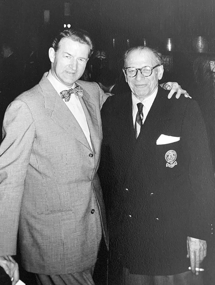 jack prescott, american actors, silent movie director, film star, jay jostyn, radio programs, stage performers, 1950s, lambs club, new york city, mens clubs