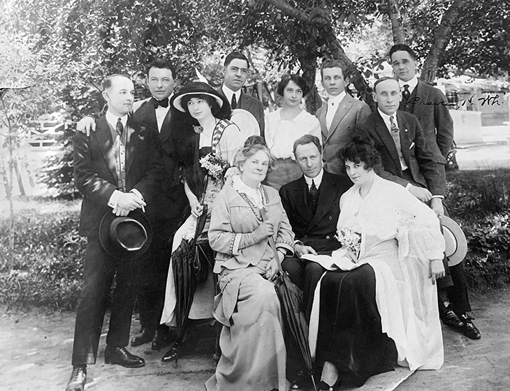 thais magrane, american actress, 1914, actor, bruce mcrae, silent film star, elitch theatre company, denver, colorado,