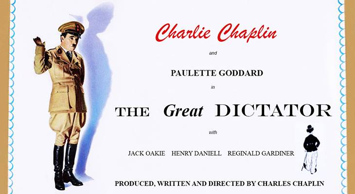 1940 october, classic movies, 1940s comedies, charlie chaplin films, the great dictator, actors, movie stars, charles chaplin, director, producer, screenwriter, paulette goddard, jack oakie, henry daniell, reginald gardiner