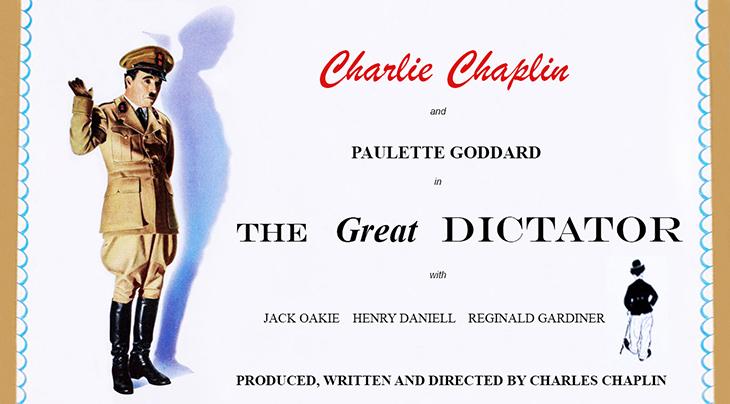 1940 october, classic movies, 1940s comedies, charlie chaplin films, the great dictator, actors, movie stars, charles chaplin, director, producer, screenwriter, paulette goddard, jack oakie, henry daniell, reginald gardiner