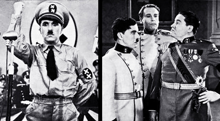 1940 october, classic movies, 1940s comedies, charlie chaplin films, the great dictator, actors, movie stars, charles chaplin, director, producer, screenwriter, jack oakie, henry daniell,