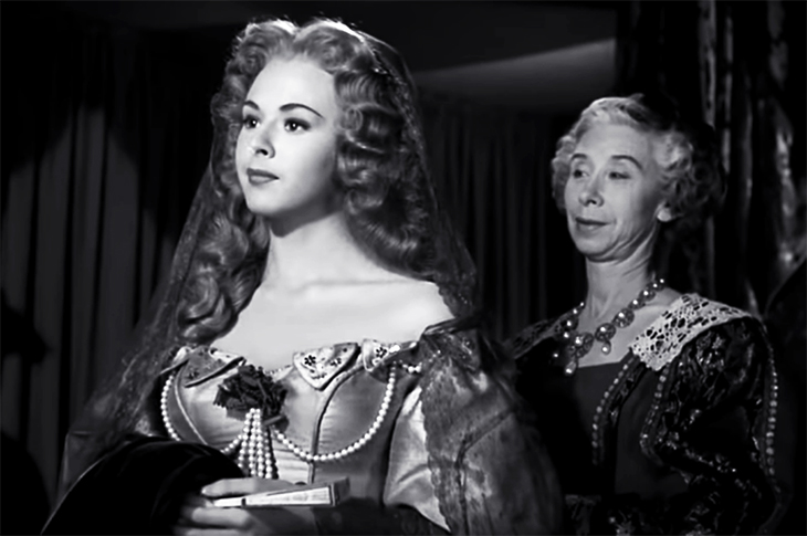 1950 movies, cyrano de bergerac, american actresses, mala powers, virginia farmer, historical films, adventure movies, romantic dramas, tragedy, film stars,