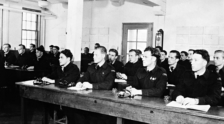 little norway, norwegian air force, toronto, centre island, training, camp, base, pilots, air crew, flight instructors, students, royal norwegian navy, 1940