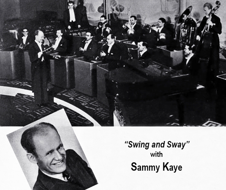 sammy kaye, 1939, american musician, big band leader, songwriter, 1950 hit single, harbor lights, 1940s hit songs, remember pearl harbor, dream valley, daddy, chickery chick, im a big girl now, the old lamplighter, 1930s song hits, rosalie, love walked in,