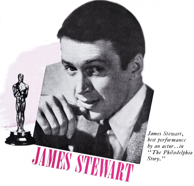 1940, classic movies, the philadelphia story, color poster, american actor, james stewart, film star, academy award, best actor, oscar