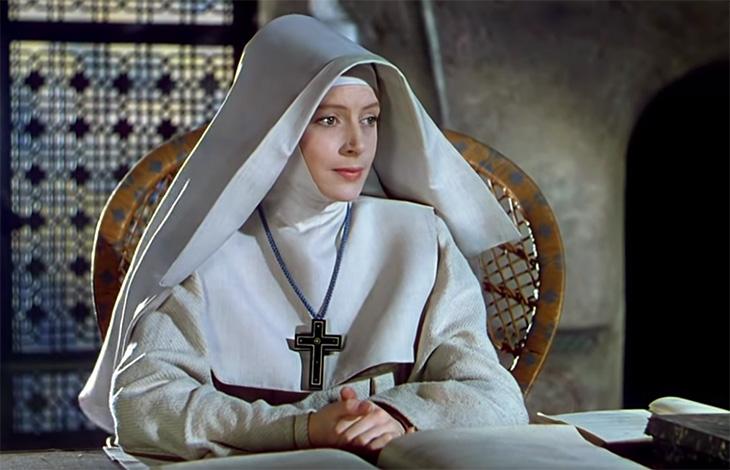 1947 movie, classic films, black narcissus, british actress, movie stars, deborah kerr, english actress, nun