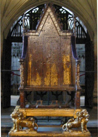 coronation chair, king edwards chair, english monarch coronations, westminster abbey,