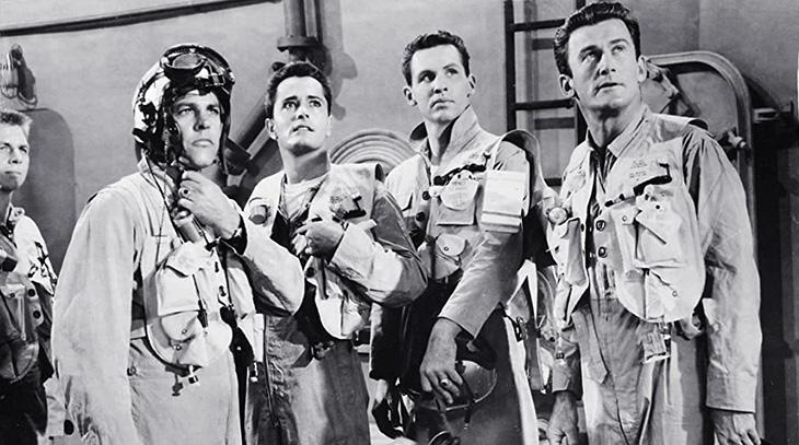 pat conway, american actors, 1955, movies, an annapolis story, film stars, kevin mccarthy, john derek, l q jones, alvy moore