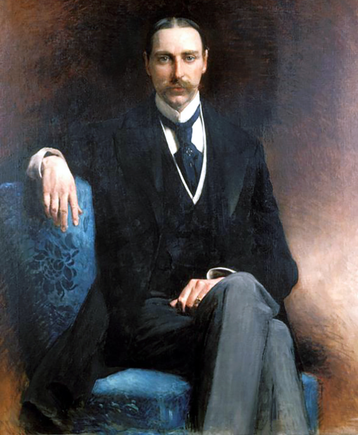 john jacob astor iv, 1896, american millionaire, lina astor, mrs william backhouse astor jr, william b astor son, new york city, wealthy, financier, businessman, portrait, painter, leon jose bonnat