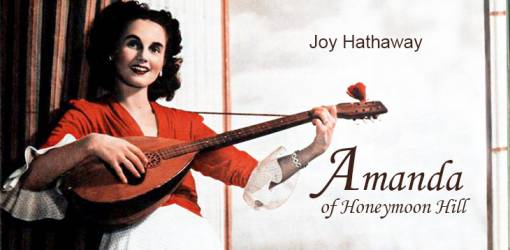 joy hathaway meeker, canadian actress, wife of charles kenny, old time radio, 1940s radio programs, daytime radio serials, amanda of honeymoon hill, 1942,