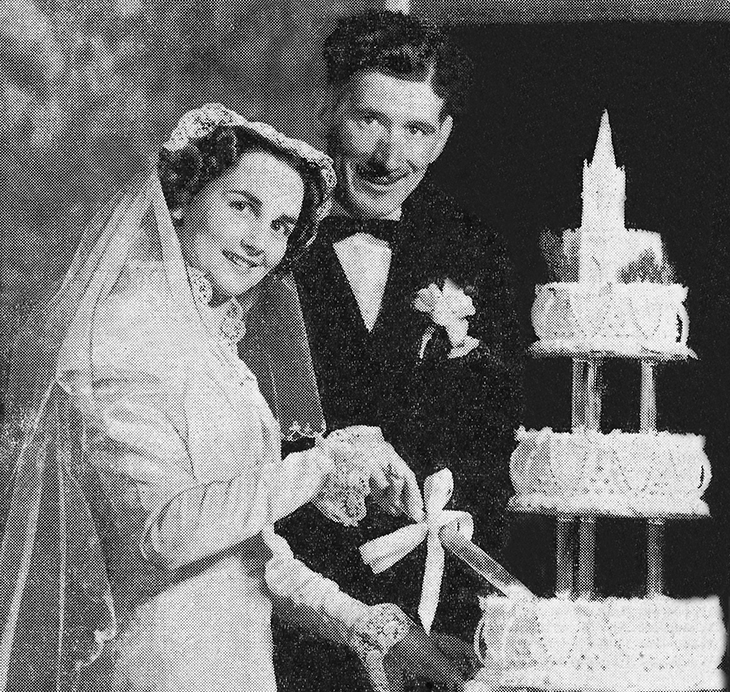 charles kenny, american songwriter, love letters in the sand, joy hathaway meeker, canadian actress, 1939 wedding, old time radio, 1940s radio programs, daytime radio serials, amanda of honeymoon hill, stella dallas, front page farrell,