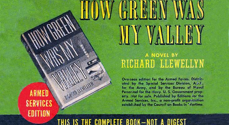 how green was my valley, best sellers, 1940, march, 1939 books, novels, author, richard llewellyn,