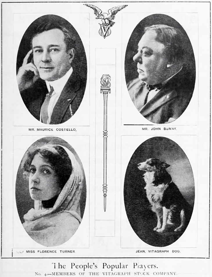 jean, the vitagraph dog, rough collie, silent movies, dog film stars, vitagraph film studios, silent film stars, 1912, maurice costello, john bunny, florence turner, silent films, auld lang syne, bachelor buttons, jean intervenes, laurence trimble dog