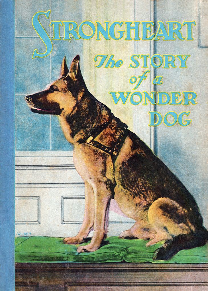 strongheart, 1922, movie dog, silent films, german shepherd, police dog, childrens storybooks, strongheart the story of a wonderdog, author, writer, laurence trimble, animal actor