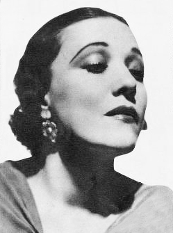 carmen castillo, mexican actress, latin music, american singer, married xavier cugat, 1937, movie star, films, the loves of carmen, woman wise, the man who laughs, waldorf astoria orchestra