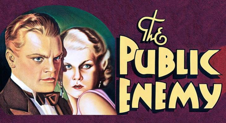 1931, classic movies, the public enemy, crime dramas, gangster films, actors, movie stars, james cagney, jimmy cagney, actress, jean harlow,