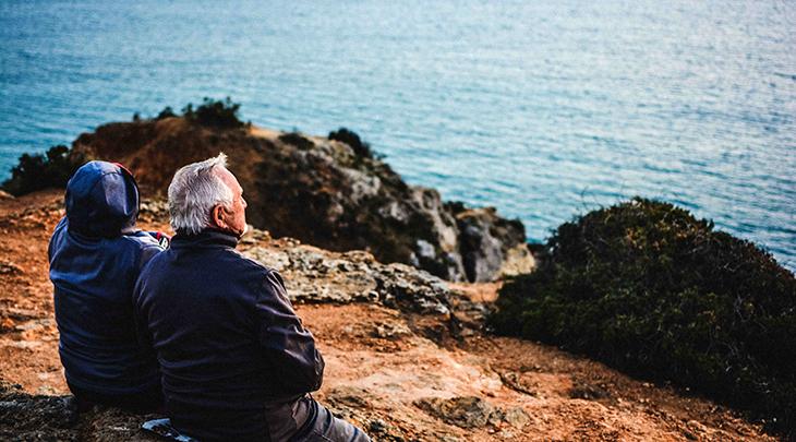 older couple, aging, retirement, travel, growing older, seniors, older adults
