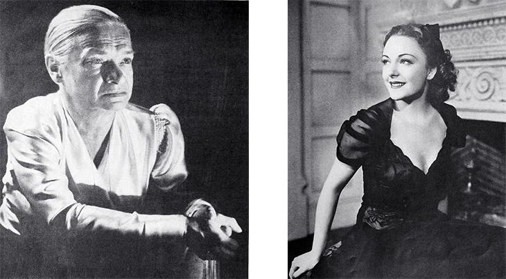 maria ouspenskaya, russian actress, acting teacher, 1940s, virginia field, american, 1939, 1940 films, waterloo bridge cast
