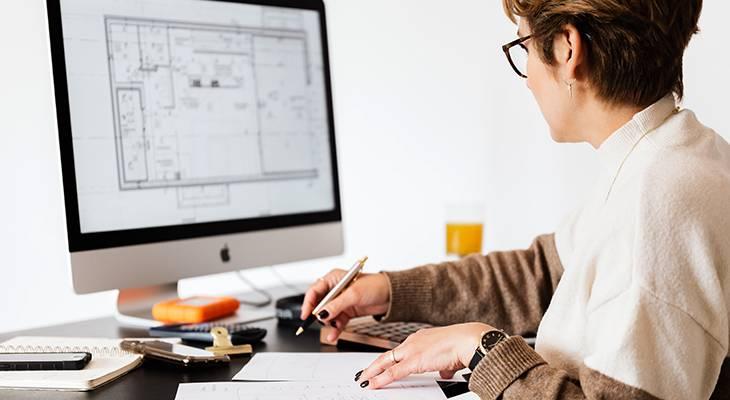 computer, office, home plans, blue prints, architect, real estate agent, interior designer, home decorator, renovator