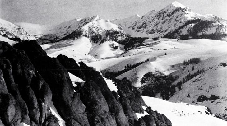 1940, movies, classic films, the mortal storm, mountains, germany, austria, bavaria, alps, skiers, photographer, merritt sibbald