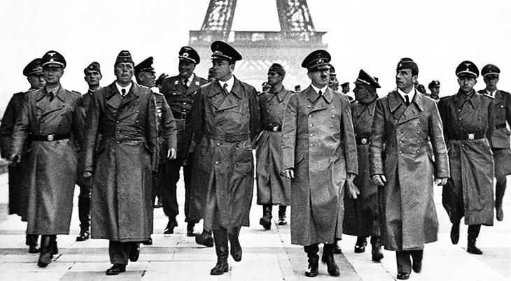 june 1940, world war two, wwii, german invasion, france,, paris,eiffel tower, adolf hitler, nazis, martin bormann, otto dietrich, albert speer, hermann giesler,