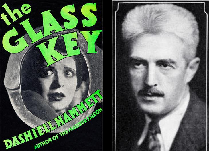 the glass key, detective books, 1931, best sellers, crime fiction, author, dashiell hammett, 1936, writer, american, novelist