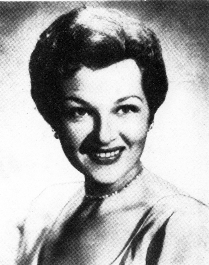 jo stafford, american singer, 1958, 1950s, hit songs, you belong to me, make love to me, jambalaya, suddenly theres a valley, london bridge, hey good lookin