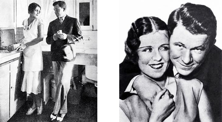 stuart erwin, june collyer, american actors, actress, model, movie stars, 1930s, celebrity couples, 1931, 1932, film star home