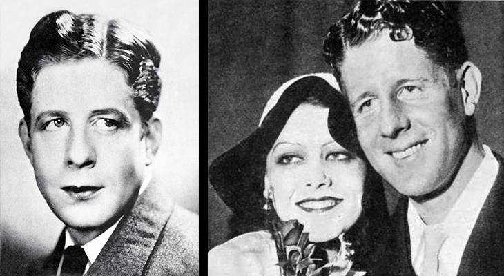 rudy vallee, american singer, crooner, big band, orchestra leader, connecticut yankees, saxophonist, musician, 1931, celebrity wedding, actress, fay webb, hit songs, as time goes by, life is just a bowl of cherries, 1930s, im just a vagabond lover