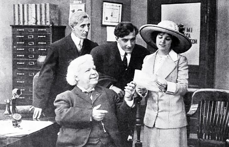 essanay films, 1912, silent movies, a good catch, american actors, film stars, francis x bushman, howard missimer, joseph allen sr, actress, beverly bayne