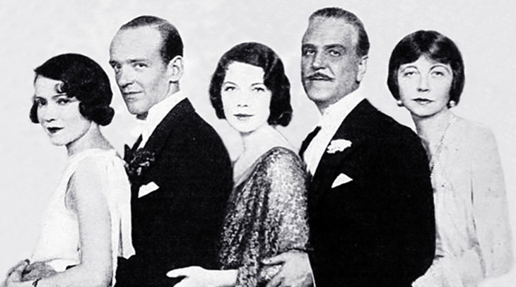 1931 musicals, stage plays, the band wagon, actors, dancers, fred astaire, frank morgan, actresses, adele astaire, tilly losch, helen broderick, 1930s