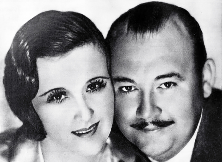 margaret livingston, paul whiteman, 1931 august weddings, 1930s, celebrity couples, actress, silent movies, film star, the king of jazz, musician, big band leader, orchestra, films, call her savage,
