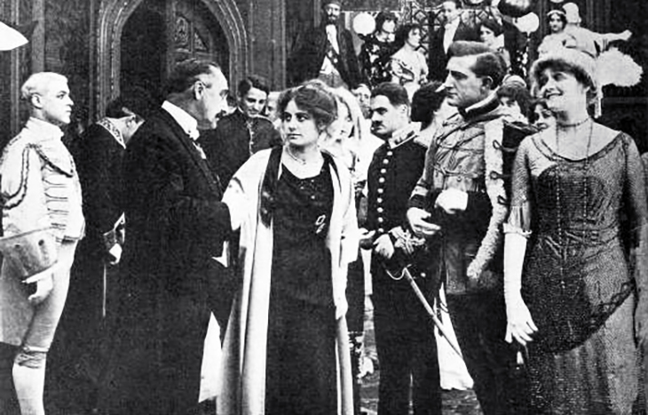 francis x bushman, american actor, frank dayton, actress, ruth stonehouse, silent films, movie stars, 1913, essanay movies, a spys defeat,