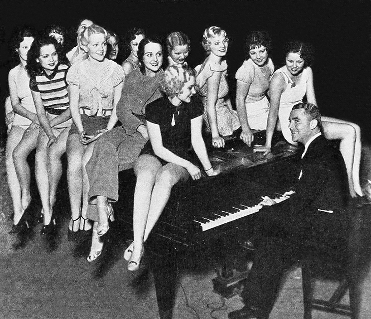 george whites scandals, 1933, 1934 movies, tryouts, musicals, producer george white, dancers, actresses,