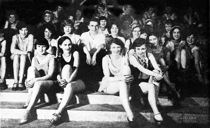 george whites scandals, 1928, broadway plays, musicals, dancers, actresses, ann pennington, boots mallory, movie stars, june maccloy, frances williams