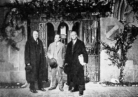 william randolph hearst, american publisher, robert vignola, silent movies, producer, arthur brisbane, newspaper editor, new york city, 1920