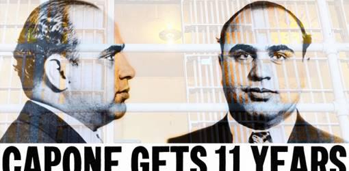 al capone, american gangster, chicago outfit, mobster, organized crime, tax evasion conviction, 1931, october, mug shot, scarface, big al, public enemy no 1,criminal, alcatraz cell 181,